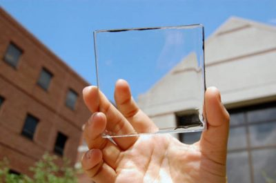 Glass turning the sun's energy into power
