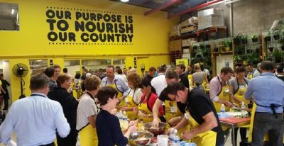 OzHarvest food initiative